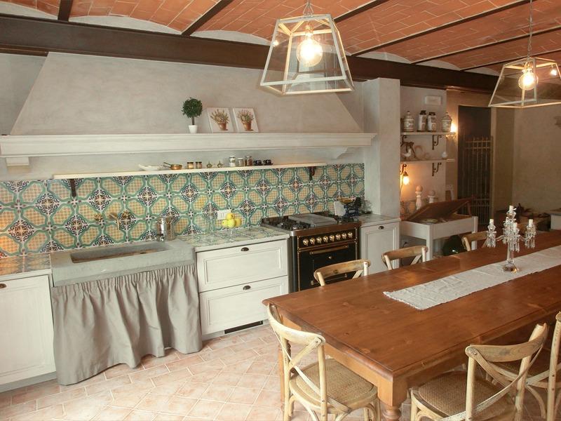 Cucina rustica nuova fcm cucine artigianali - Cucine di campagna ...